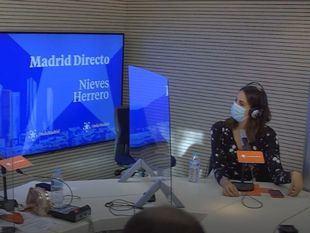 Rita Maestre en el estudio de Madrid Directo