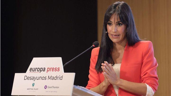 Begoña Villacís, vicealcaldesa de Madrid, protagonista del desayuno informativo de Europa Press.