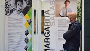 Margarita Salas aparece en esta exposición homenaje a científicas