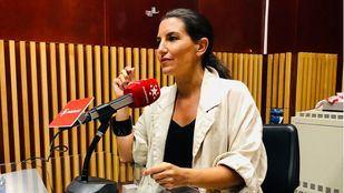 Rocío Monasterio en una entrevista en Onda Madrid, en una foto de archivo