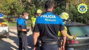 Rescatado un niño de dos años que quedó encerrado en un vehículo en Alcorcón