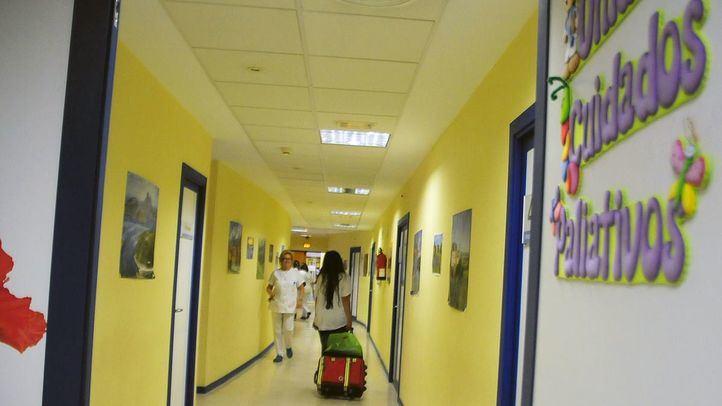 Unidad de Cuidados Paliativos del Hospital Niño Jesús.
