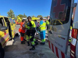 El joven atropellado ha sido trasladado hasta el Hospital Puerta de Hierro