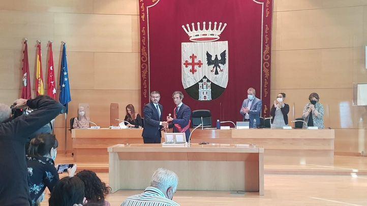 Investidura de Aitor Retolaza como alcalde de Alcobendas