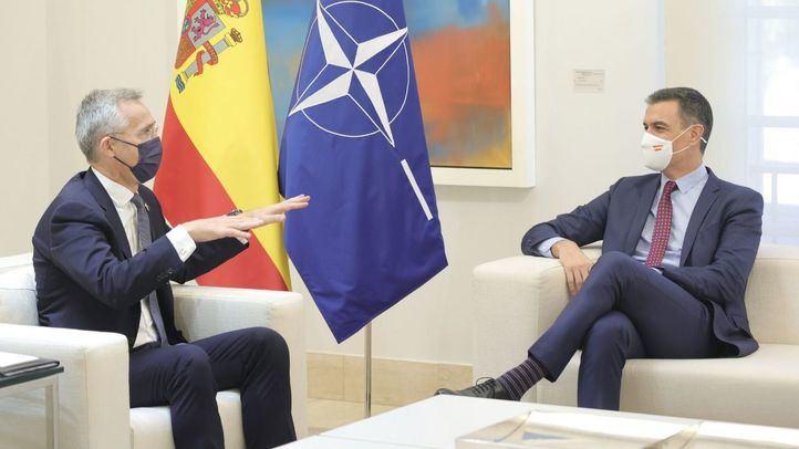 El presidente del Gobierno y el secretario general de la OTAN