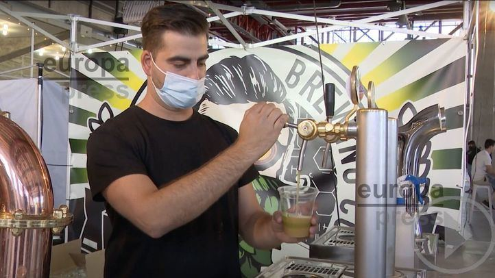 Beermad, la feria de cerveza artesanal, llena el Pabellón de Cristal