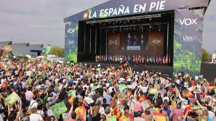 Abascal carga contra Casado, 'un burdo relevo' del PSOE al que augura que 'no llegará a ningún Gobierno'