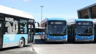 Autobuses eléctricos de la EMT