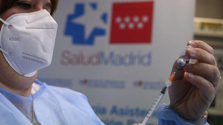 Foto de archivo: Vacunación Comunidad de Madrid