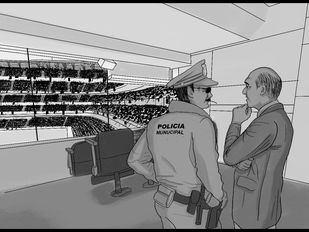 Pero qué me está usted contando… Esto a quien tiene que contárselo es a las autoridades, a la policía, a….