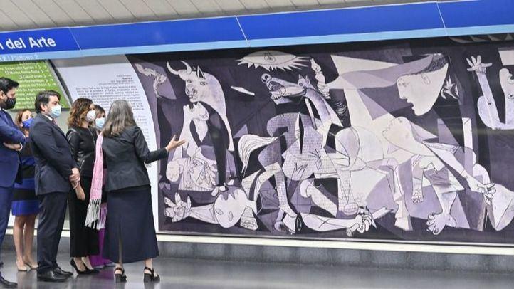 Nuevas pinturas llegan a la Estación del Arte de Metro