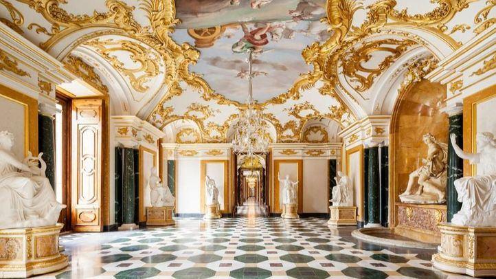 Sala de Mármoles del palacio de La Granja de San Ildefonso