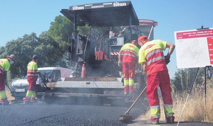 La Comunidad prevé mejorar 384 kilómetros de carreteras en la campaña de firmes 2020