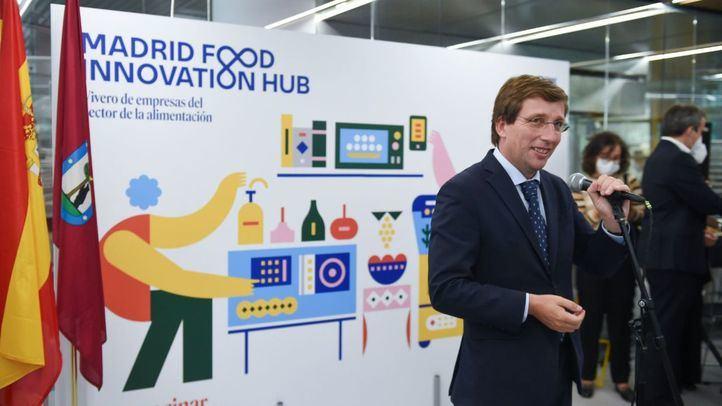José Luis Martínez-Almeida en la presentación de 'Madrid Food Innovation Hub'