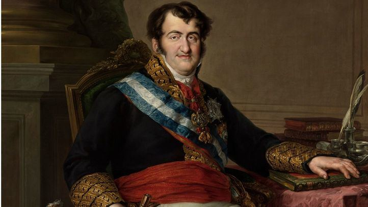 'Fernando VII' de Vicente López Portaña, 1832.