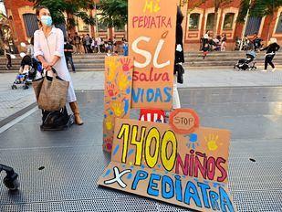 Familias de Retiro reclaman pediatras para el Centro de Salud de Adelfas