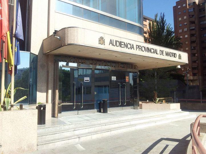 Foto de archivo: Sede Audiencia Provincial de Madrid