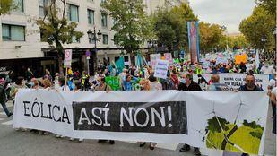 Manifestación ecologista en Madrid