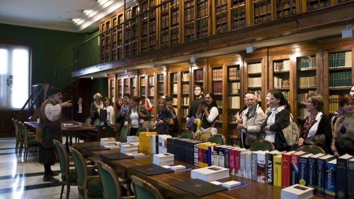 Visita dramatizada a una biblioteca