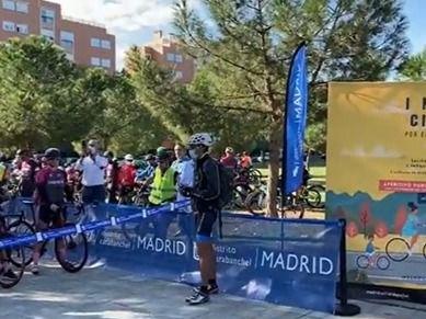 Marcha Ciclista en Carabanchel