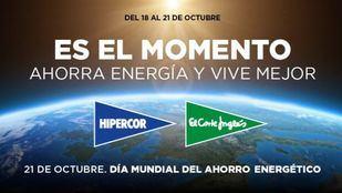 El Corte Inglés se suma a los actos por el Día Mundial del Ahorro Energético
