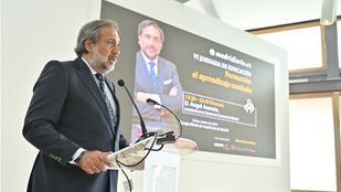 Ángel Asensio, presidente de la Cámara de Comercio de Madrid, clausura la VI Jornada de Educación organizada por Madridiario.