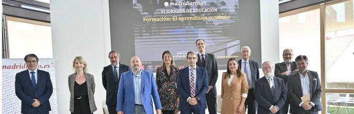 Participantes en la VI Jornada de Educación de Madridiario