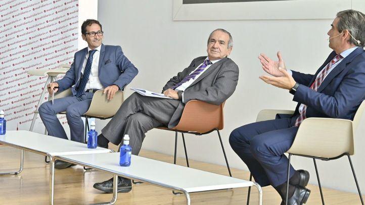 Ricardo Díaz, Emilio Lora Tamayo y Juan Luis Yagüe