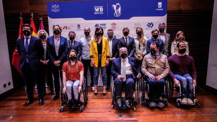 Acto de presentación del Campeonato Europeo Baloncesto en silla de ruedas