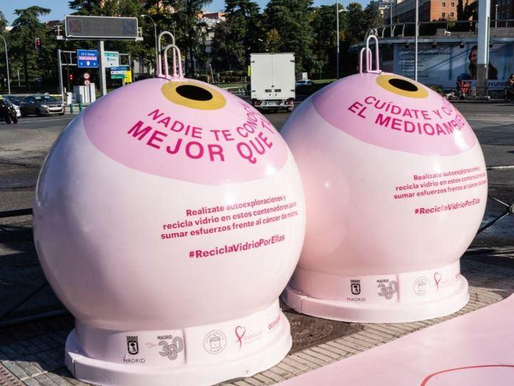 Iglús rosas de la campaña