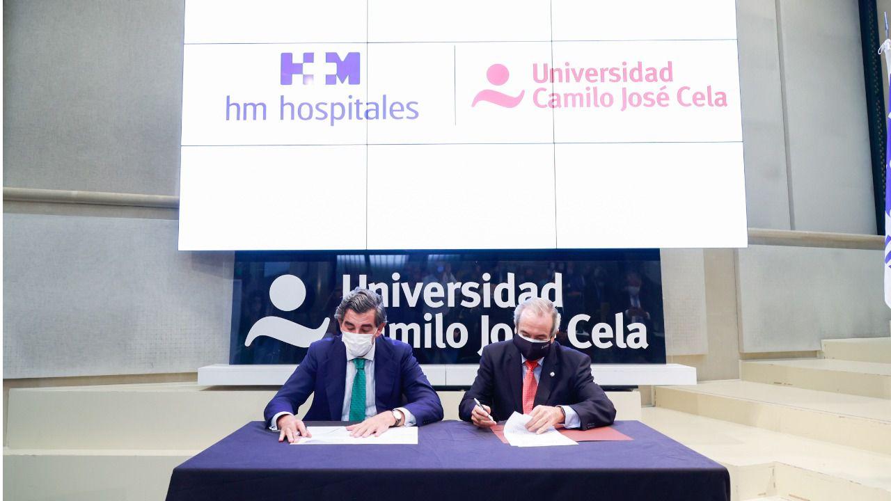 La Universidad Camilo José Cela y HM Hospitales, unidos en un proyecto pionero en Ciencias de la Salud