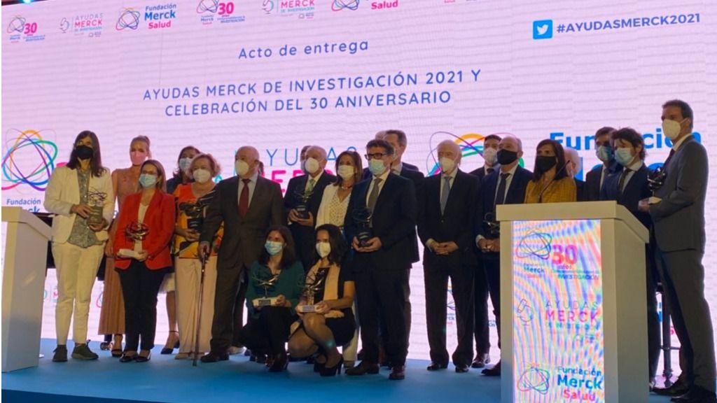 La Fundación Merck Salud celebra su 30 aniversario entregando las Ayudas de Investigación 2021