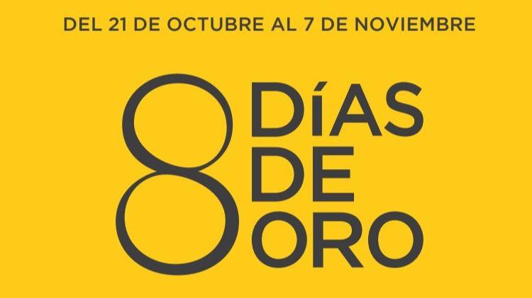 """El Corte Inglés lanza sus """"Ocho Días de Oro"""" con descuentos de hasta el 30% en más de 600 marcas"""
