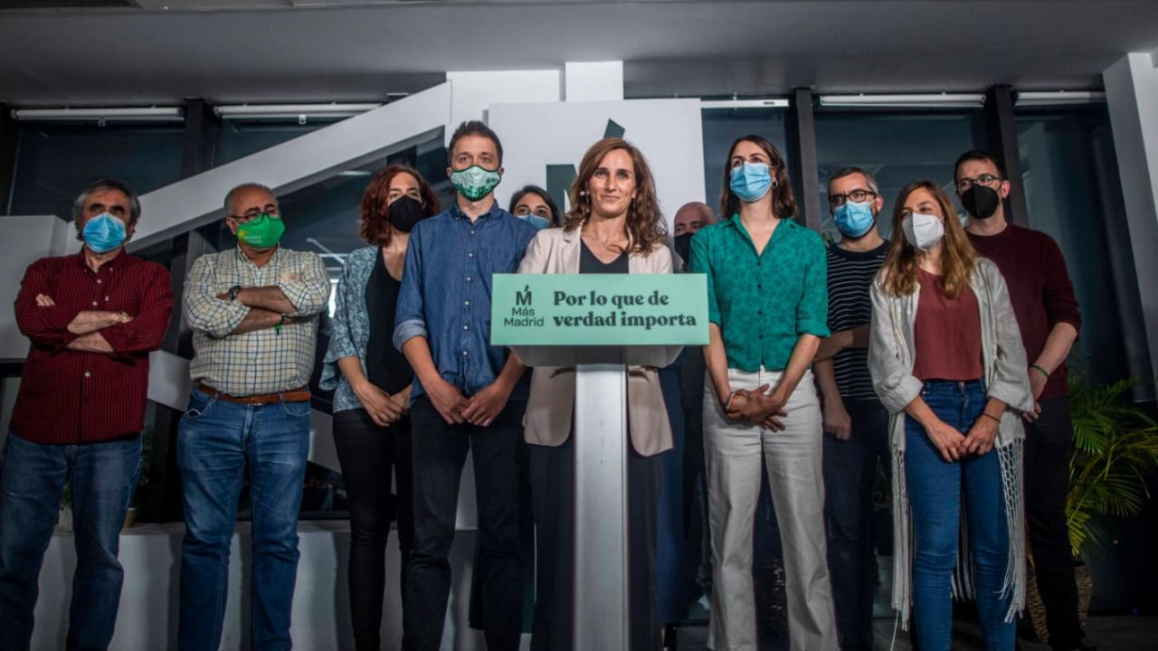 'Alternativa en camino', el plan de Más Madrid para reforzar su presencia y mirar a 2023