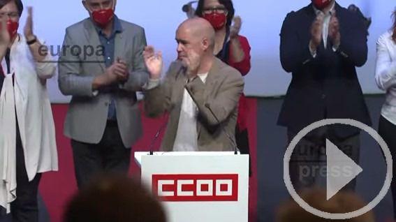 Unai Sordo, reelegido como secretario general de CCOO