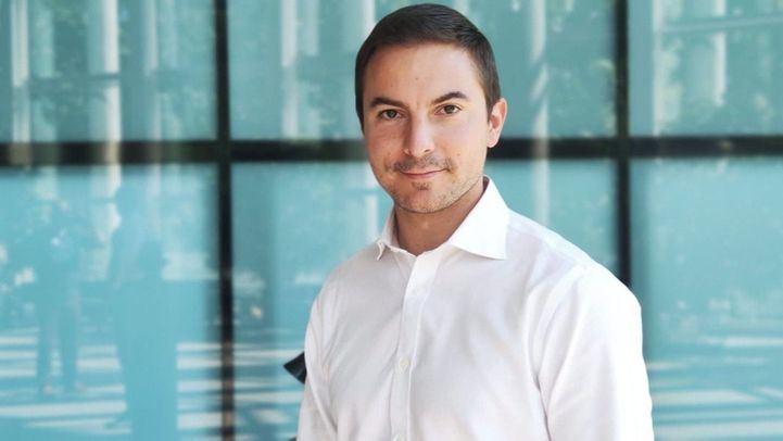 El candidato a las primarias socialistas, Juan Lobato.