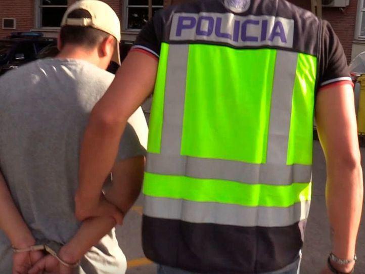Detención de un miembro de una banda latina