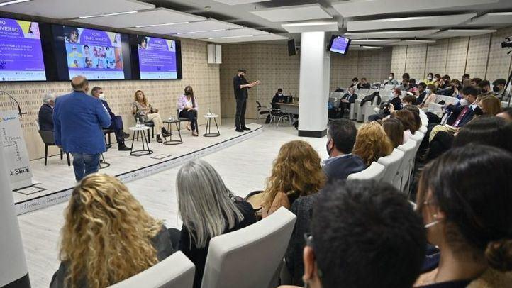 Miguel Garrido, vicepresidente de la CEOE y presidente de CEIM, Cristóbal Valderas, CEO de Clece, Marta Gutiérrez, CEO De Ogilvy Madrid y Senior VP de Ogilvy Spain y Eva Gutierrez CEO, de Señora Rushmore.
