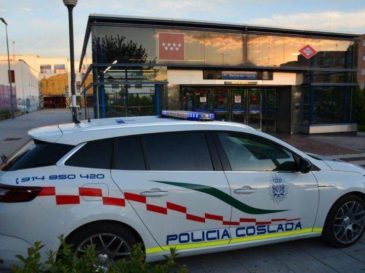 Patrulla de la Policía Local de Coslada