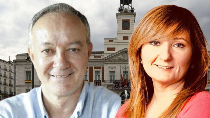 Antonio Castro y Mayte Alcaraz, cronistas de la Villa