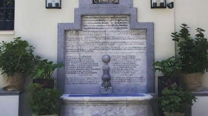 La 'milagrosa' fuente de San Isidro de Madrid