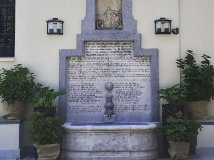 """La """"milagrosa"""" fuente de San Isidro de Madrid"""