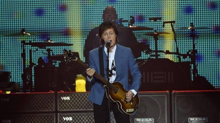 Paul McCartney en el Vicente Calderón: no estaba muerto, que estaba de parranda