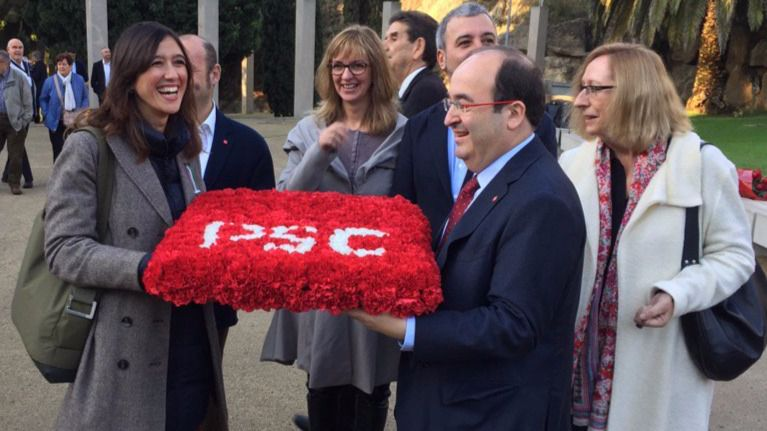 Los 'noes' a Rajoy de Iceta y Parlón se disputan el liderazgo del PSC