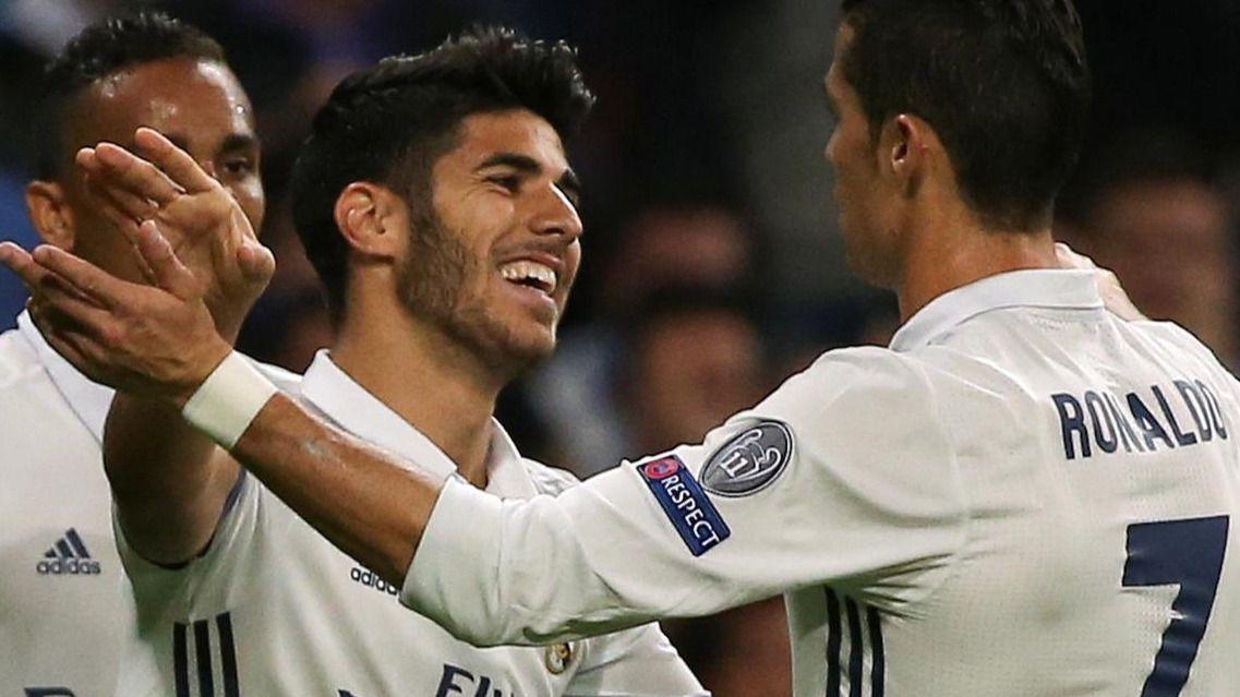 El Real Madrid no necesita jugar bien para hacerle una 'manita' al Legia (5-1)