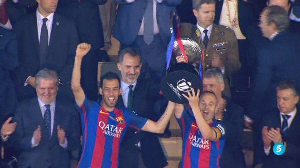 El Barça sigue siendo el rey de Copas
