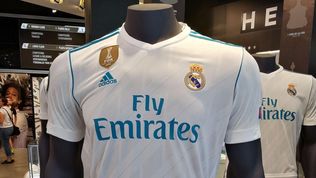 Les ofrecemos en primicia la nueva camiseta del Real Madrid para la próxima temporada 2017/2018