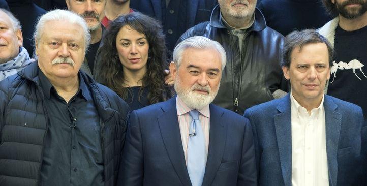 Mario Gas, Darío Villanueva y Carlos Buero