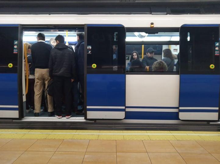 Metro de Madrid afronta este jueves una nueva jornada de huelga.