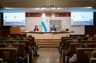 Encuentro corporativo con accionistas en Bilbao.